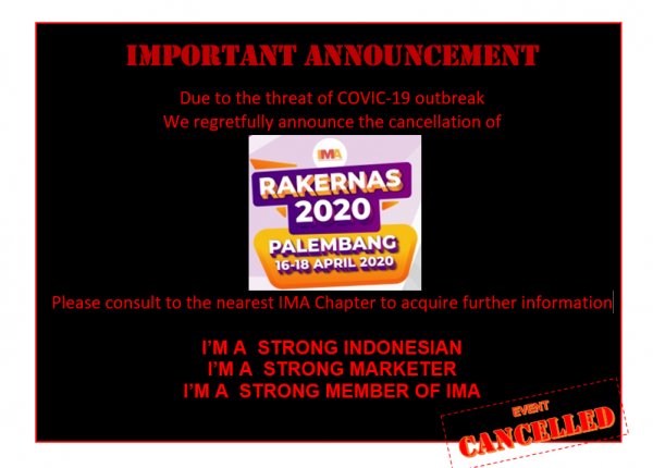 Cancellation announcenment